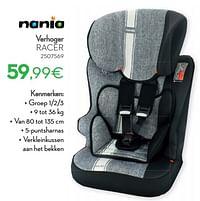 Verhoger racer-Nania