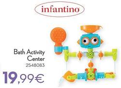 Bath activity center