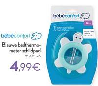 Blauwe badthermometer schildpad-Bébéconfort