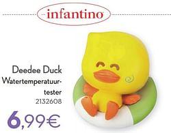 Deedee duck watertemperatuurtester