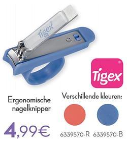 Ergonomische nagelknipper