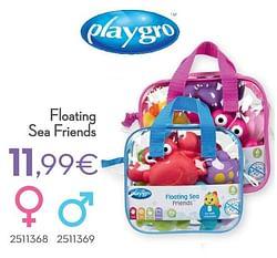 Floating sea friends