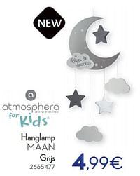 Hanglamp maan-Atmosphera