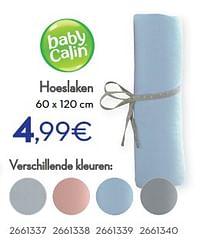 Hoeslaken-Baby Calin