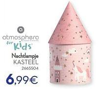 Nachtlampje kasteel-Atmosphera