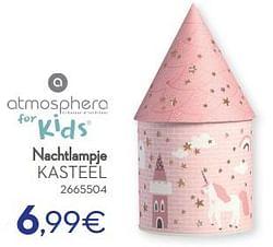 Nachtlampje kasteel