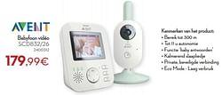Philips babyfoon vidéo scd832-26