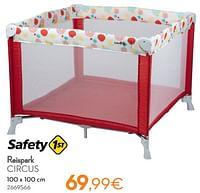 Reispark circus-Safety 1st