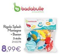 Rigolo splash montagne + boeien-Badabulle
