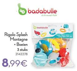 Rigolo splash montagne + boeien
