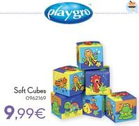 Soft cubes-Playgro