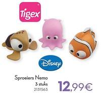 Sproeiers nemo-Tigex