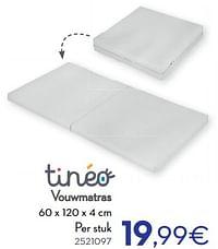 Vouwmatras-Tineo