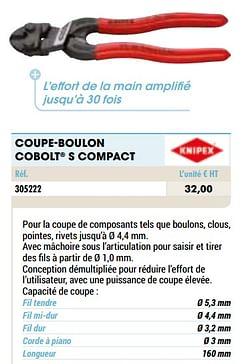 Coupe-boulon cobolt s compact