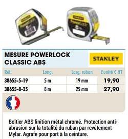 Mesure powerlock classic abs