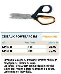 Ciseaux powerarctm
