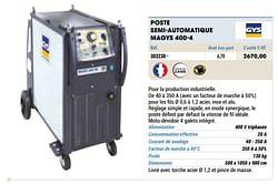 Gys poste semi-automatique magys 400-4