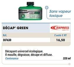 Décap` green