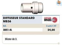 Diffuseur standard mb36