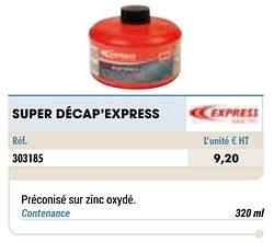 Super décap`express