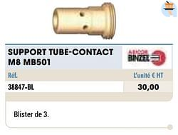 Support tube-contact m8 mb501