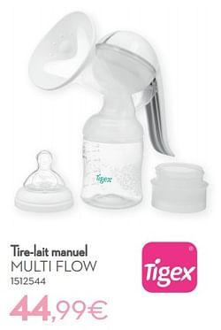 Tire-lait manuel multi flow