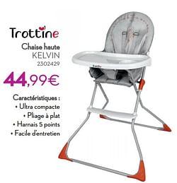 Chaise haute kelvin