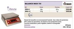 Balance inox txi