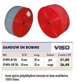 Sandow en bobine