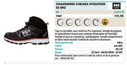 Chaussure chelsea évolution s3 src