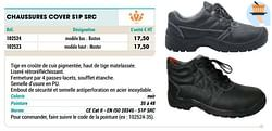 Chaussures cover s1p src