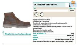 Chaussures oslo s3 src