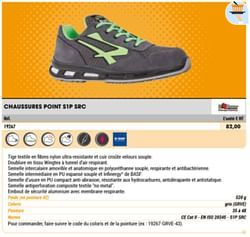 Chaussures point s1p src