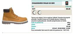 Chaussures willis s3 src