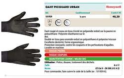Gant picguard urban