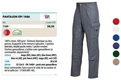Pantalon epi 1486
