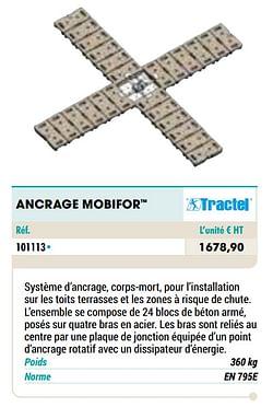 Ancrage mobifor