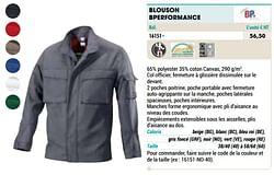 Blouson bperformance