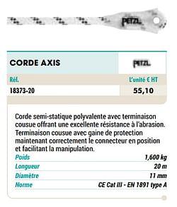 Corde axis