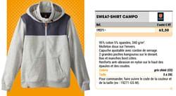 Sweat-shirt campo