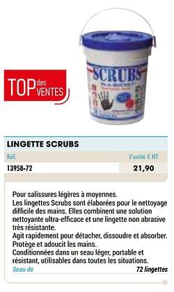 Lingette scrubs