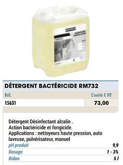 Détergent bactéricide rm732