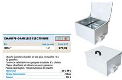 Mobika chauffe-gamelles électrique
