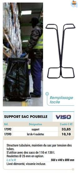 Support sac poubelle