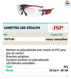 Lunettes leo stealth