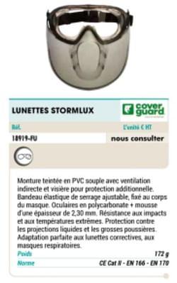 Lunettes stormlux