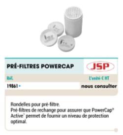 Pre-filtres powercap