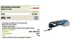 Bosch découpeur-ponceur gop 18 v-28