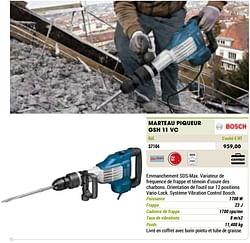 Bosch marteau piqueur gsh 11 vc