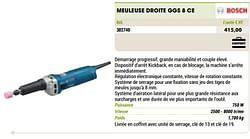 Bosch meuleuse droite ggs 8 ce